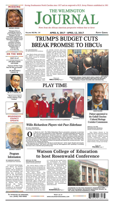Wilmington Journal - Apr 6, 2017