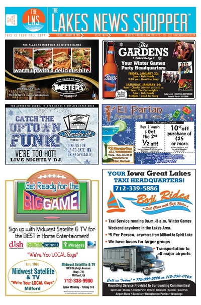 Lakes News Shopper - Jan 20, 2015