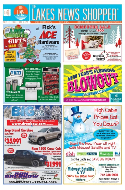 Lakes News Shopper - Dec 23, 2014