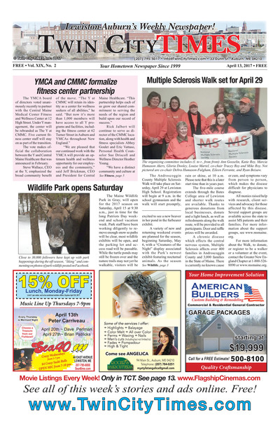 Twin City Times - Apr 13, 2017
