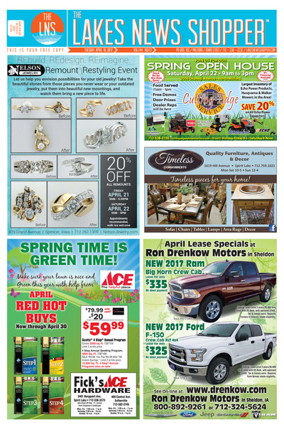 Lakes News Shopper - Apr 18, 2017