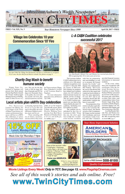 Twin City Times - Apr 20, 2017
