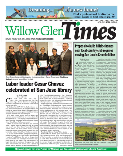 Willow Glen Times - April 2017
