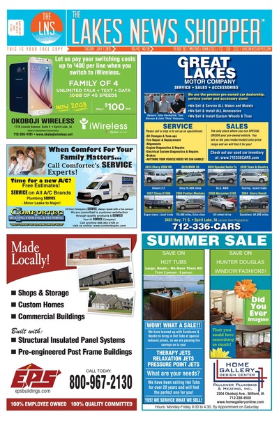Lakes News Shopper - Jul 7, 2015
