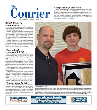 Delmarva Courier - Apr 26, 2017