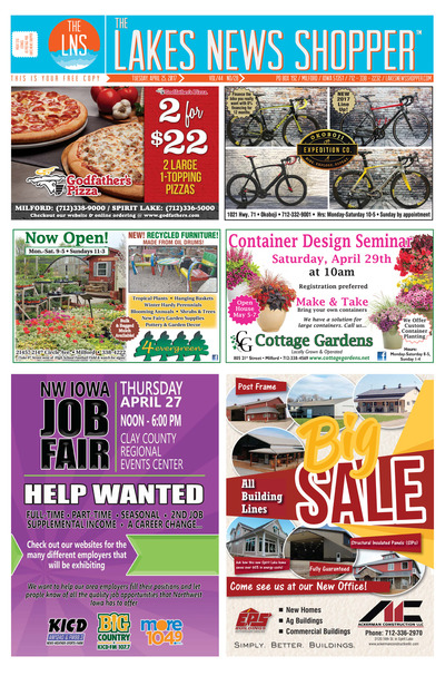 Lakes News Shopper - Apr 25, 2017