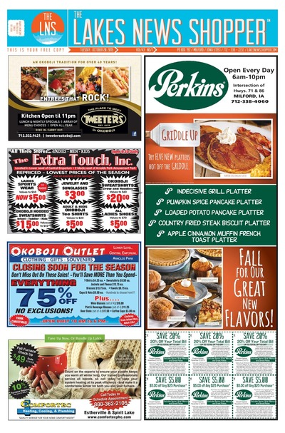 Lakes News Shopper - Oct 20, 2015