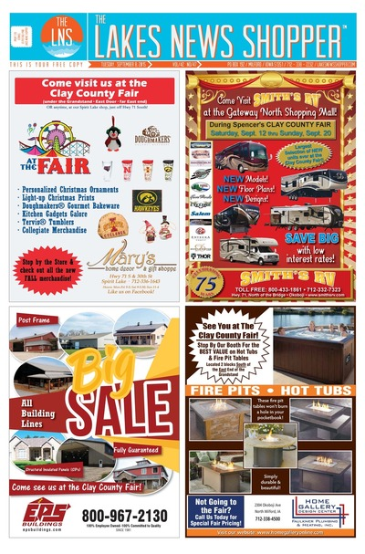 Lakes News Shopper - Sep 8, 2015