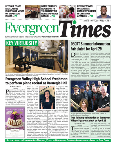 Evergreen Times - Apr 28, 2017