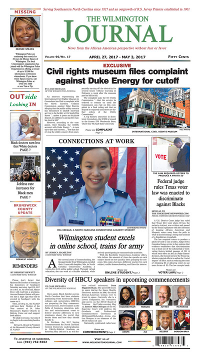 Wilmington Journal - Apr 27, 2017