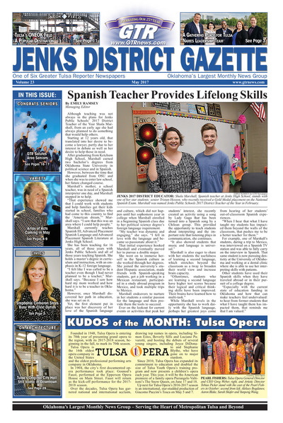 Jenks District Gazette - May 2017