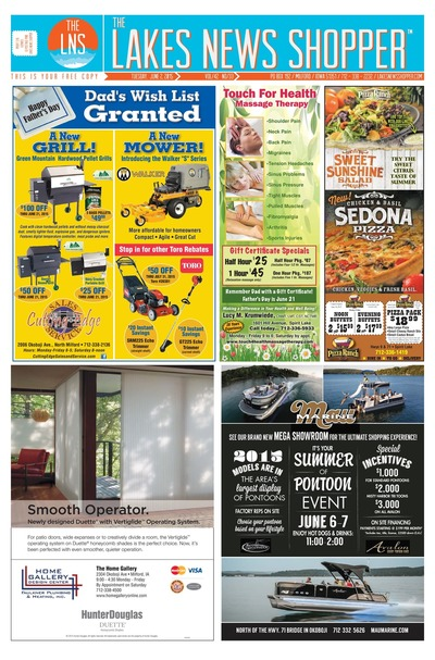 Lakes News Shopper - Jun 2, 2015