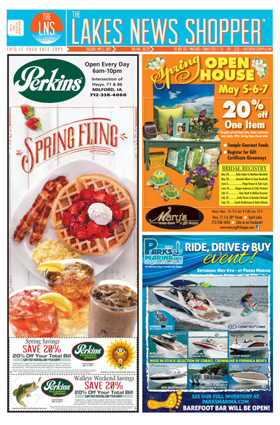 Lakes News Shopper - May 2, 2017