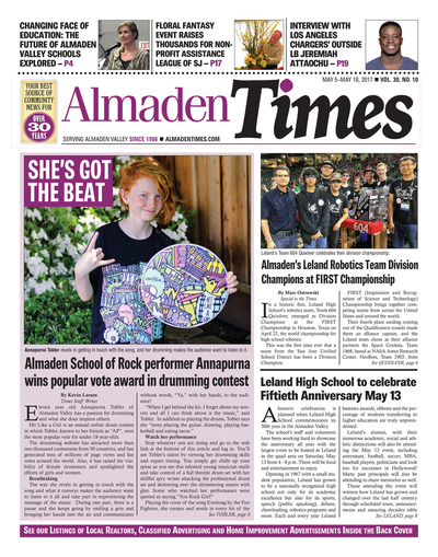 Almaden Times - May 5, 2017