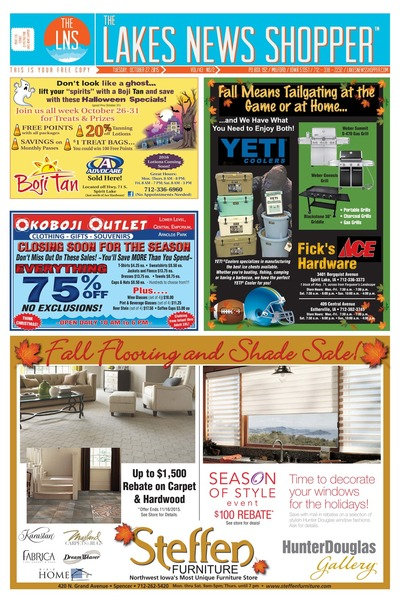 Lakes News Shopper - Oct 27, 2015