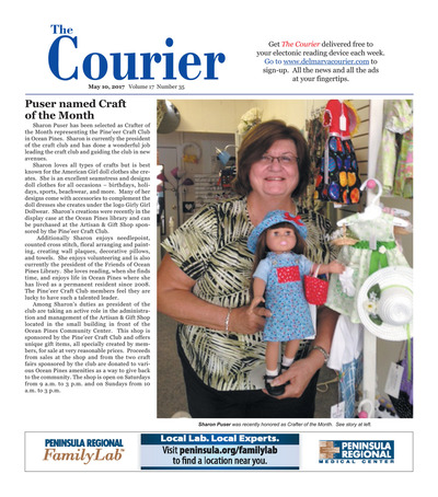 Delmarva Courier - May 10, 2017