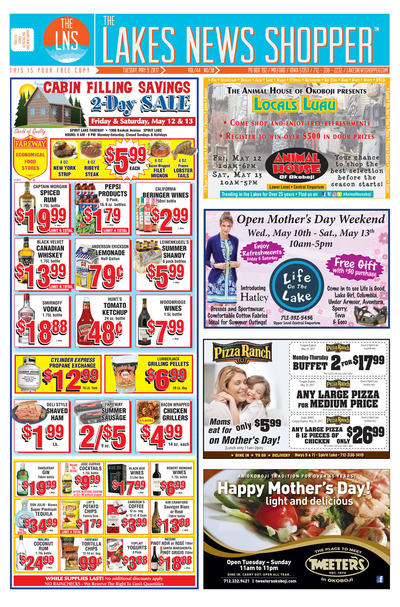 Lakes News Shopper - May 9, 2017