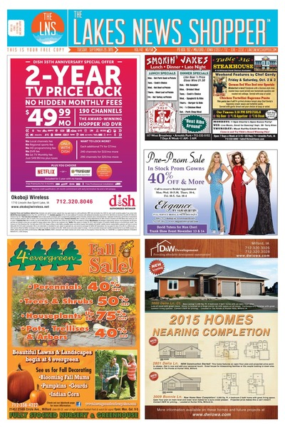 Lakes News Shopper - Sep 29, 2015