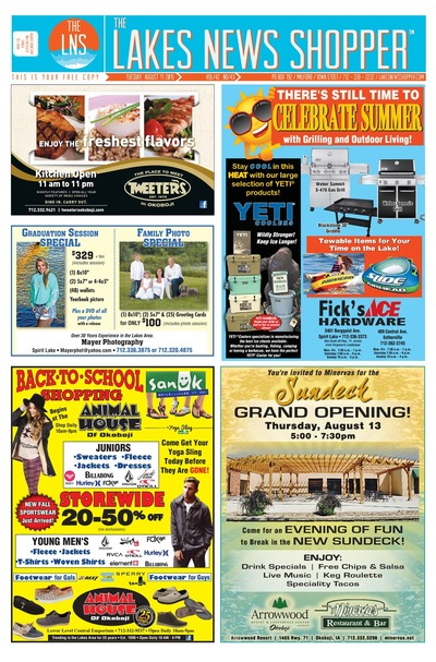 Lakes News Shopper - Aug 11, 2015
