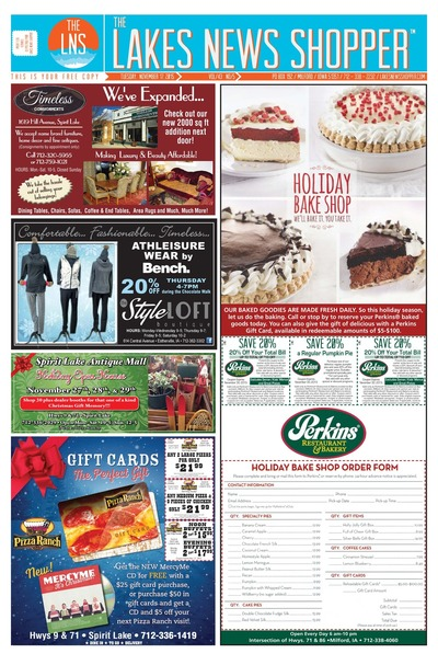 Lakes News Shopper - Nov 17, 2015