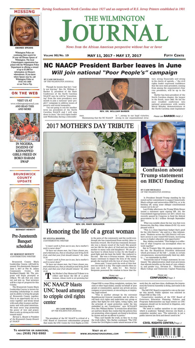 Wilmington Journal - May 11, 2017