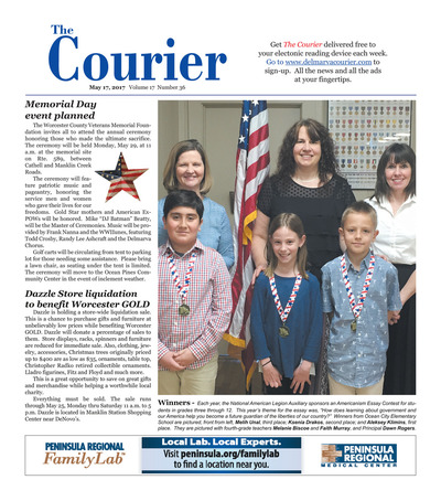 Delmarva Courier - May 17, 2017