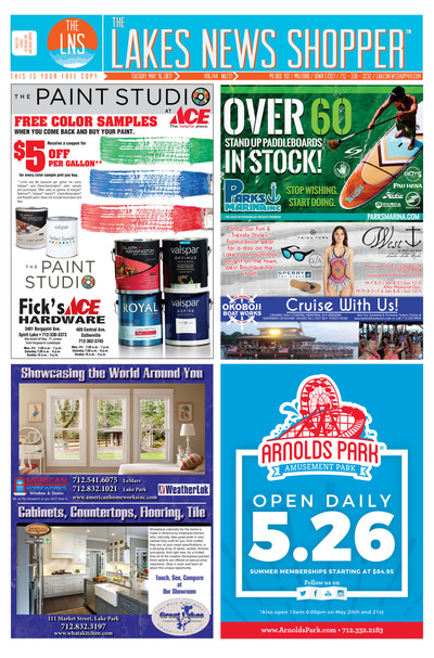 Lakes News Shopper - May 16, 2017