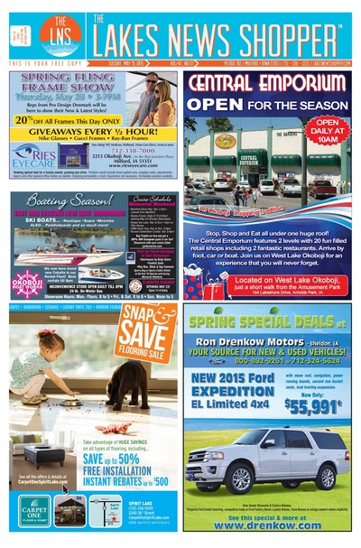 Lakes News Shopper - May 19, 2015