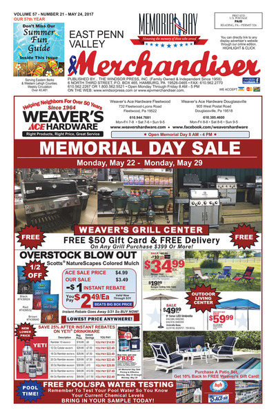 East Penn Valley Merchandiser - May 24, 2017