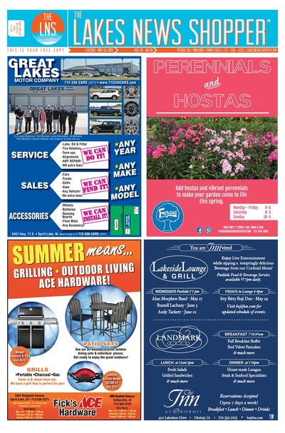 Lakes News Shopper - May 26, 2015