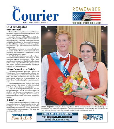 Delmarva Courier - May 24, 2017