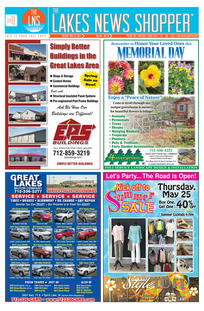Lakes News Shopper - May 23, 2017