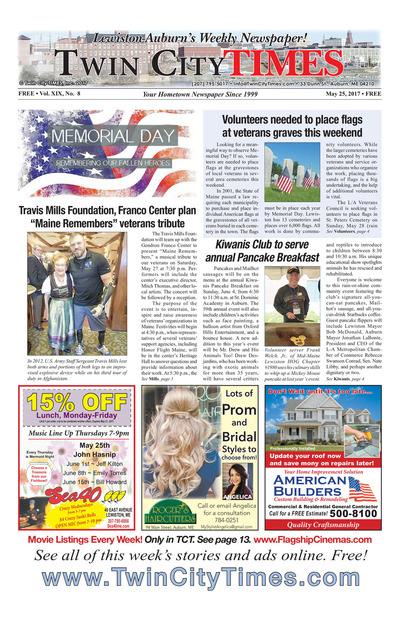Twin City Times - May 25, 2017