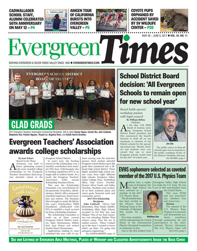 Evergreen Times - May 26, 2017
