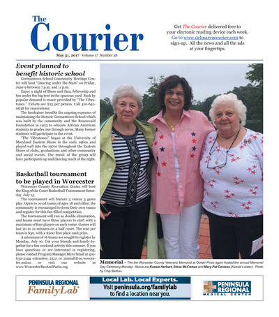 Delmarva Courier - May 31, 2017
