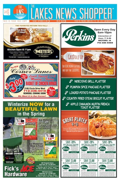 Lakes News Shopper - Sep 22, 2015