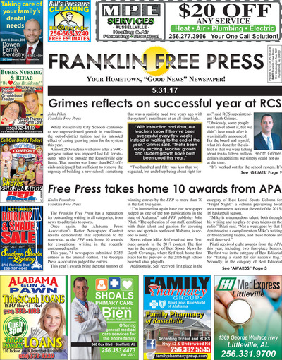 Franklin Free Press - Franklin Free Press