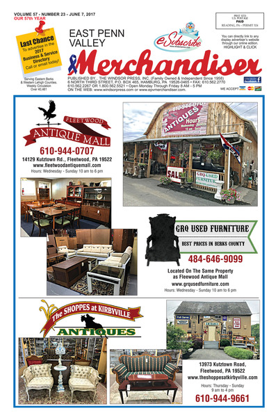 East Penn Valley Merchandiser - Jun 7, 2017