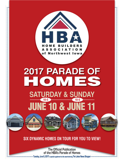 Lakes News Shopper - 2017 Parade of Homes - Jun 5, 2017