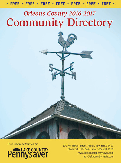 Lake Country Pennysaver - 2016 - 2017 Community Directory