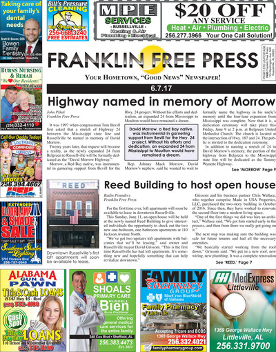Franklin Free Press - Jun 7, 2017