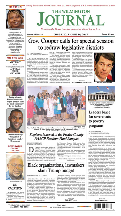 Wilmington Journal - Jun 8, 2017