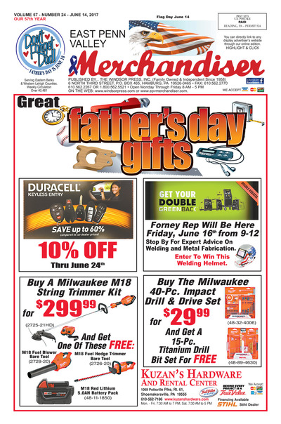 East Penn Valley Merchandiser - Jun 14, 2017