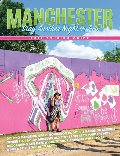 Manchester TN Chamber of Commerce - 2017 Tourism Guide