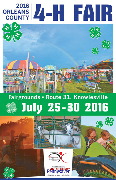 Lake Country Pennysaver - 2016 4 -H Fair