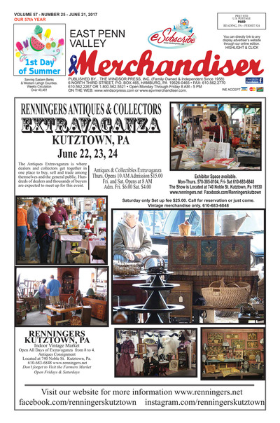 East Penn Valley Merchandiser - Jun 21, 2017