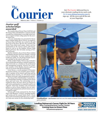 Delmarva Courier - Jun 21, 2017