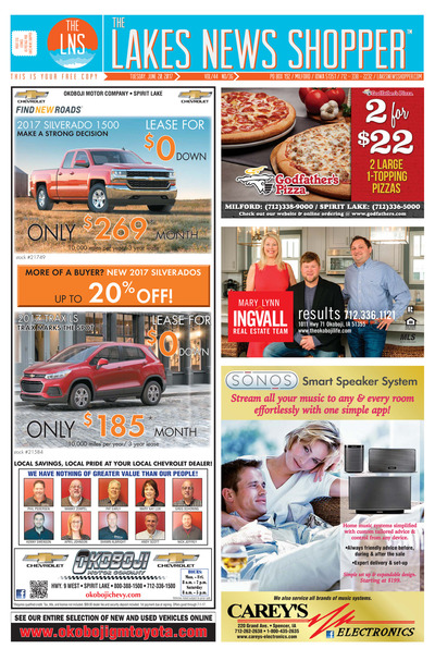 Lakes News Shopper - Jun 20, 2017