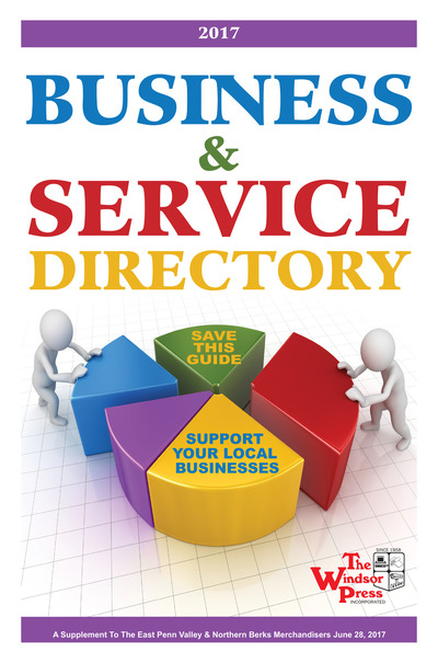 East Penn Valley Merchandiser - 2017 Business & Service Directory
