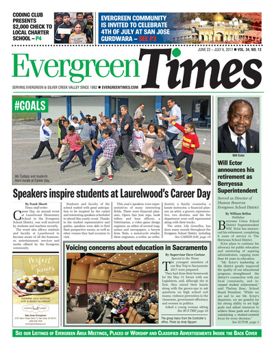 Evergreen Times - Jun 23, 2017